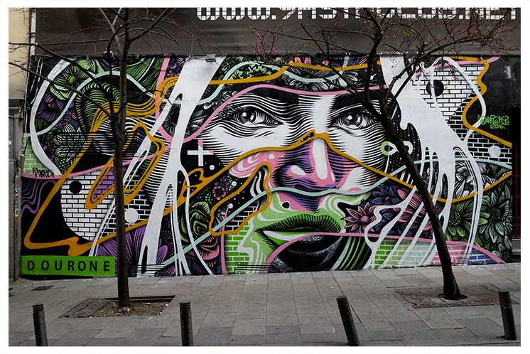 """Border Line"" by Dourone in Madrid"