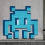 """PA_1197 & PA_1198"" by Invader in Paris"