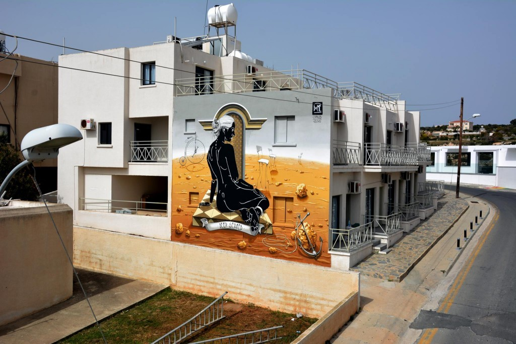 """""""Deep Seated"""" by Dome in Ayia Napa, Cyprus"""