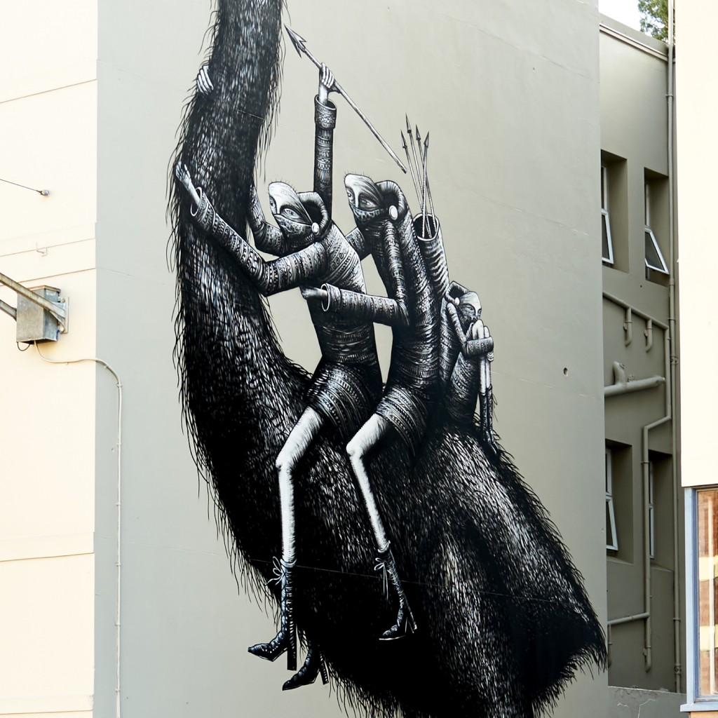 """Giant Moa"" by Phlegm in Dunedin, New Zealand"