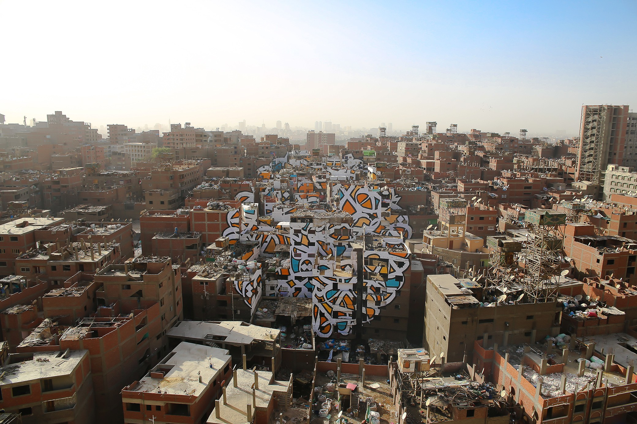perception by el seed in cairo egypt streetartnews streetartnews