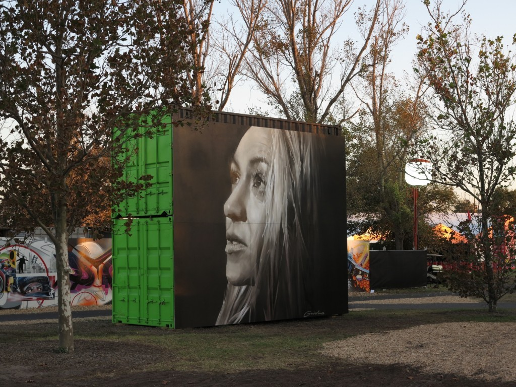 Portraits by Guido Van Helten in Australia