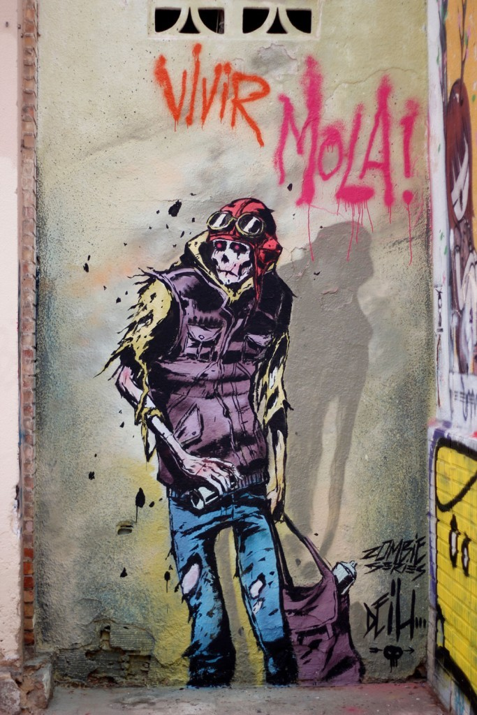"""Zombie Graffiti"" & more by Deih in Valencia, Spain"