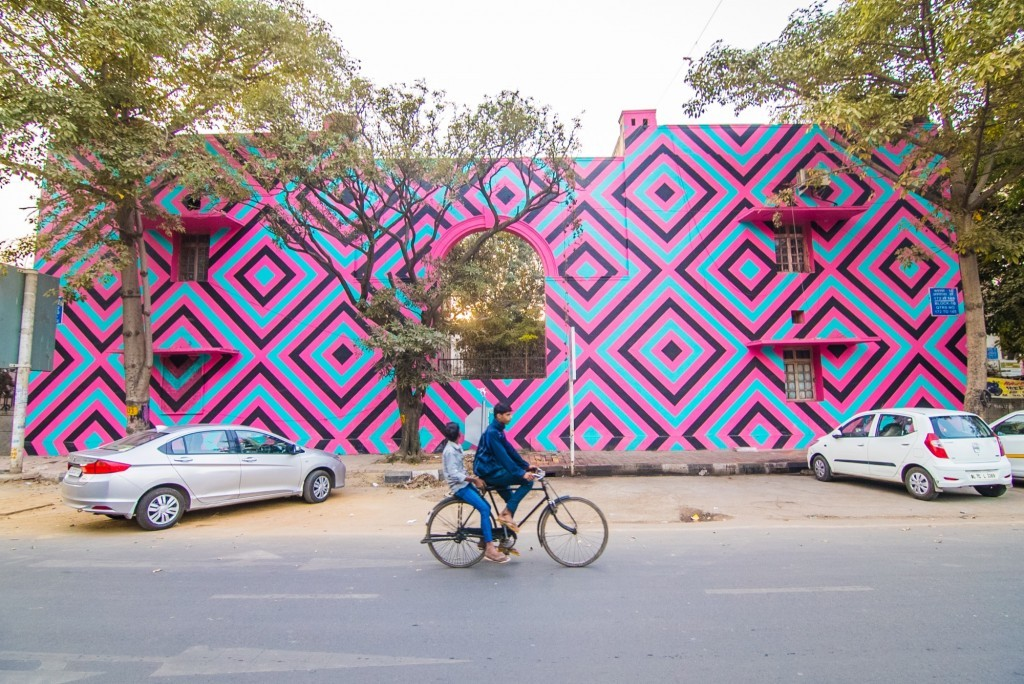 St+Art India: Reko Rennie in New Delhi