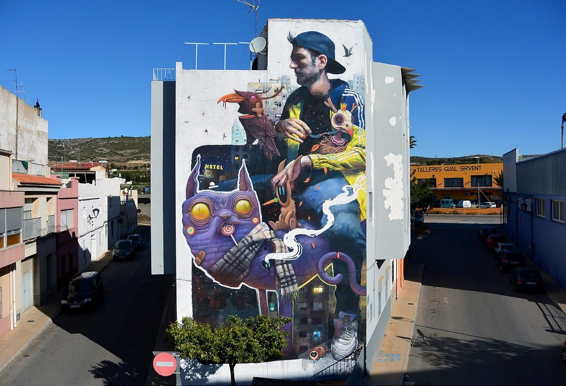 Sebas Velasco & Dulk collaborate in Torreblanca, Spain