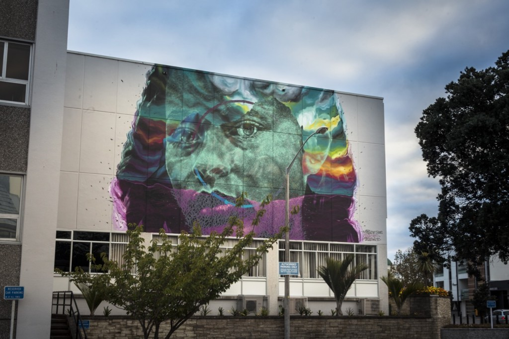 """Kaitiaki"" by Askew in Napier, New Zealand"