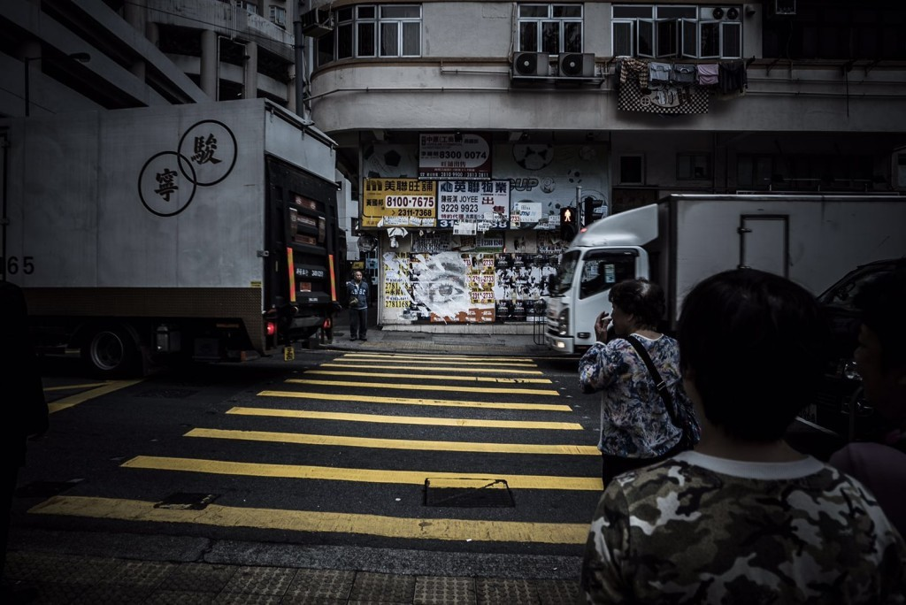 Several new pieces by Vhils in Hong-Kong
