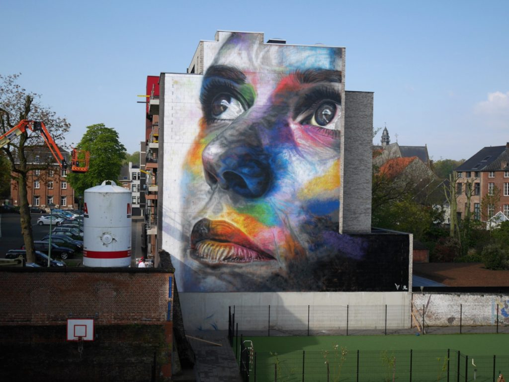 David Walker in Diest, Belgium