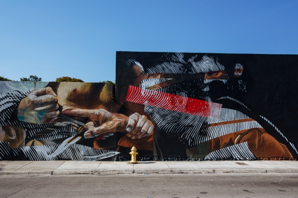 Case & 2Alas collaborate in Wynwood, Miami