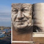 The Crystal Ship: Guido Van Helten in Oostende, Belgium