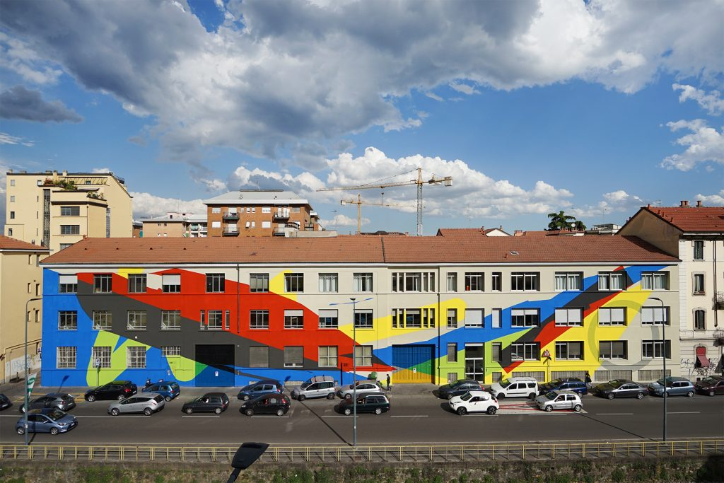 """Transversal Movement"" by Elian in Milan, Italy"