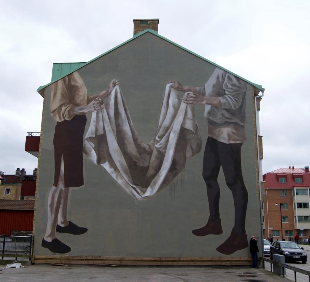 """Coexistence"" by Hyuro in Trollhattam, Sweden"