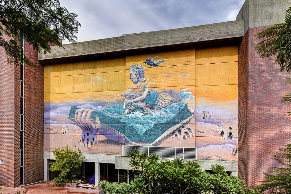 """Sailor Story"" by Rustam Qbic in  Perth, Australia"