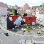 """""""The Kick To The Moon"""" by Ella & Pitr in Saint-Etienne"""