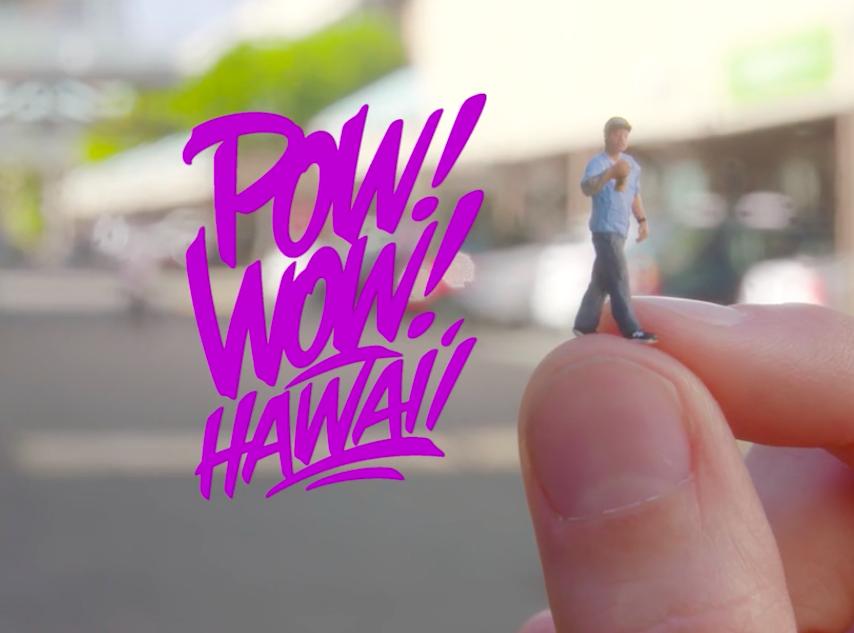 Video: POW! WOW! Hawaii 2016