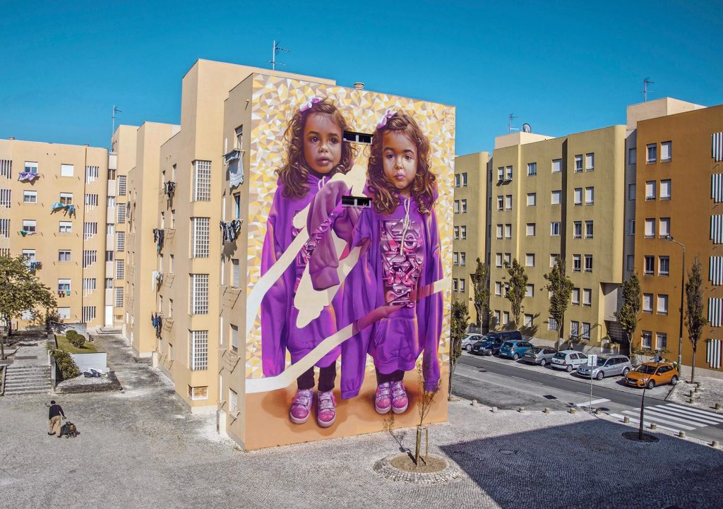 """Two Of One Kind"" by Telmo Miel & Parizone in Lisbon, Portugal"