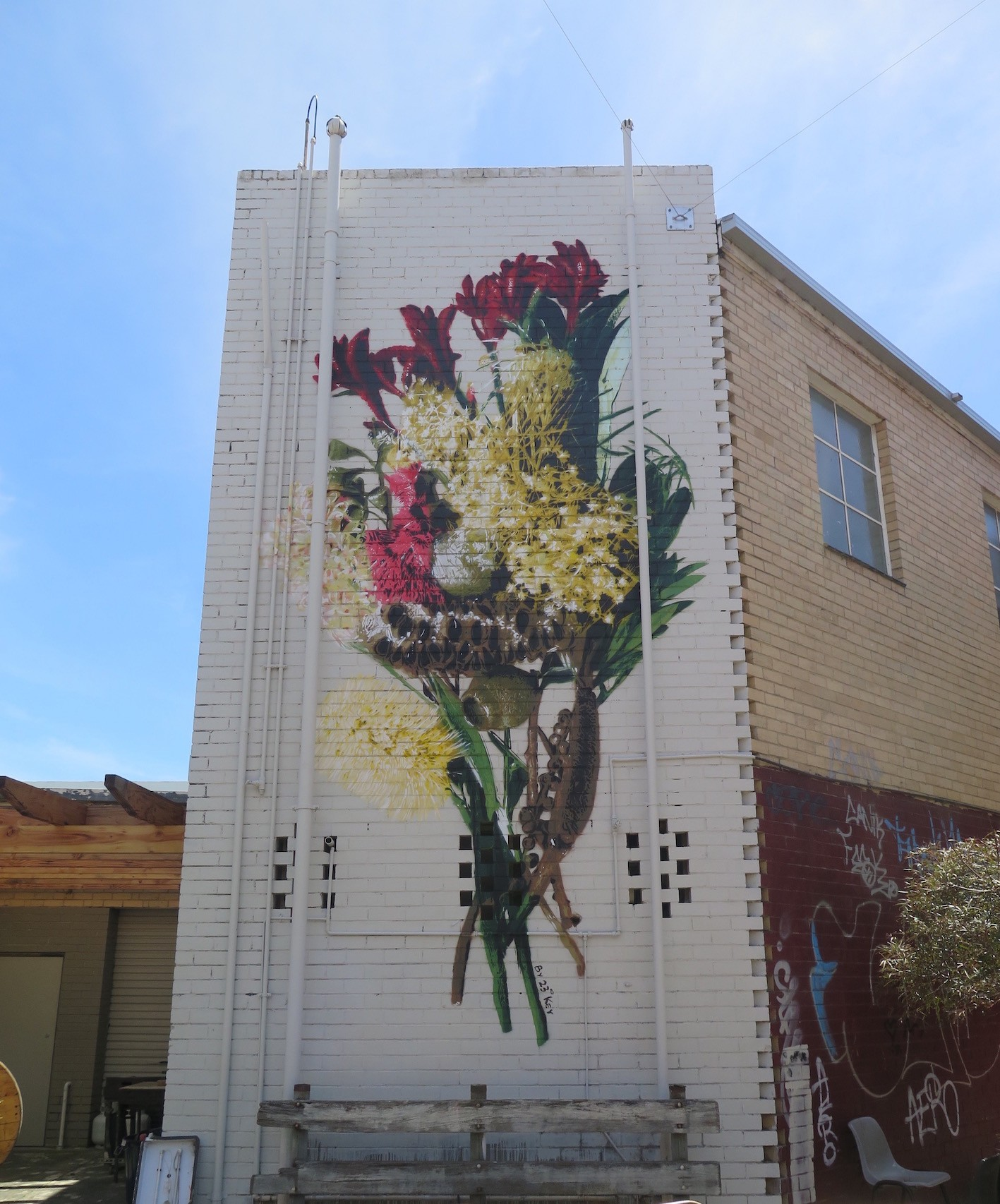 urban art project in Melbourne