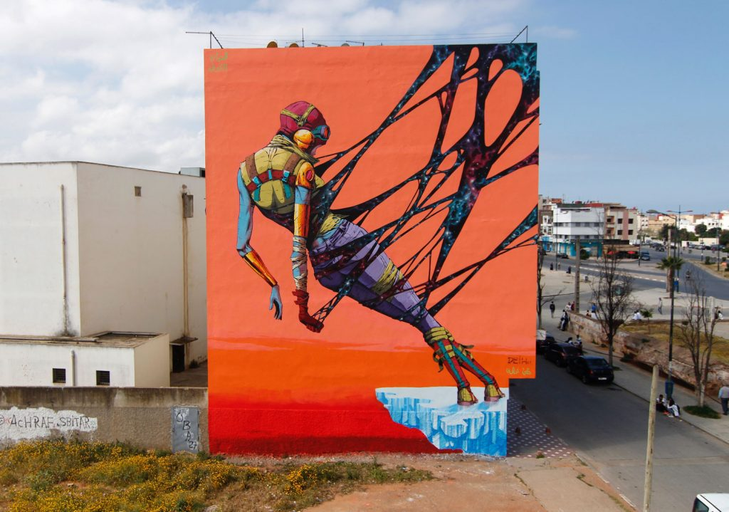 """Cosmic Balance"" by Deih in Rabat"