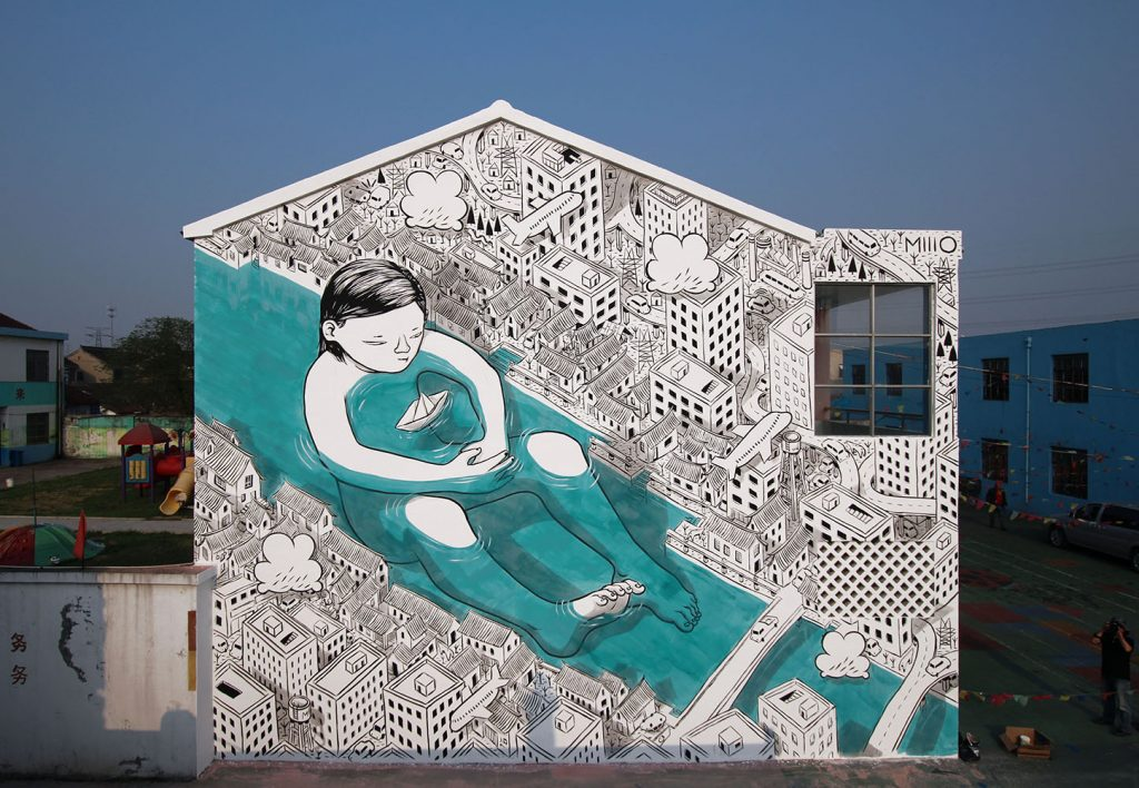 """""""Protection"""" by Millo in Suzhou, China"""