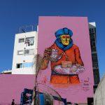 Saner New Mural in Rabat, Morocco