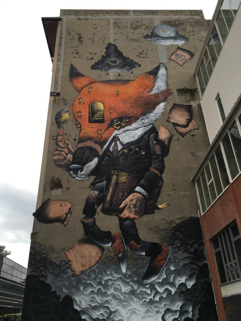 """The Story of Reynard"" by Veks Van Hillik in Grenoble, France"