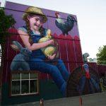 Mural Festival '16: Natalia Rak In Montreal