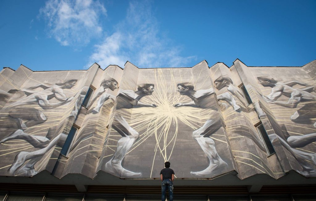 """The Impact Of Discovery"" by Li-Hill in Kiev, Ukraine"