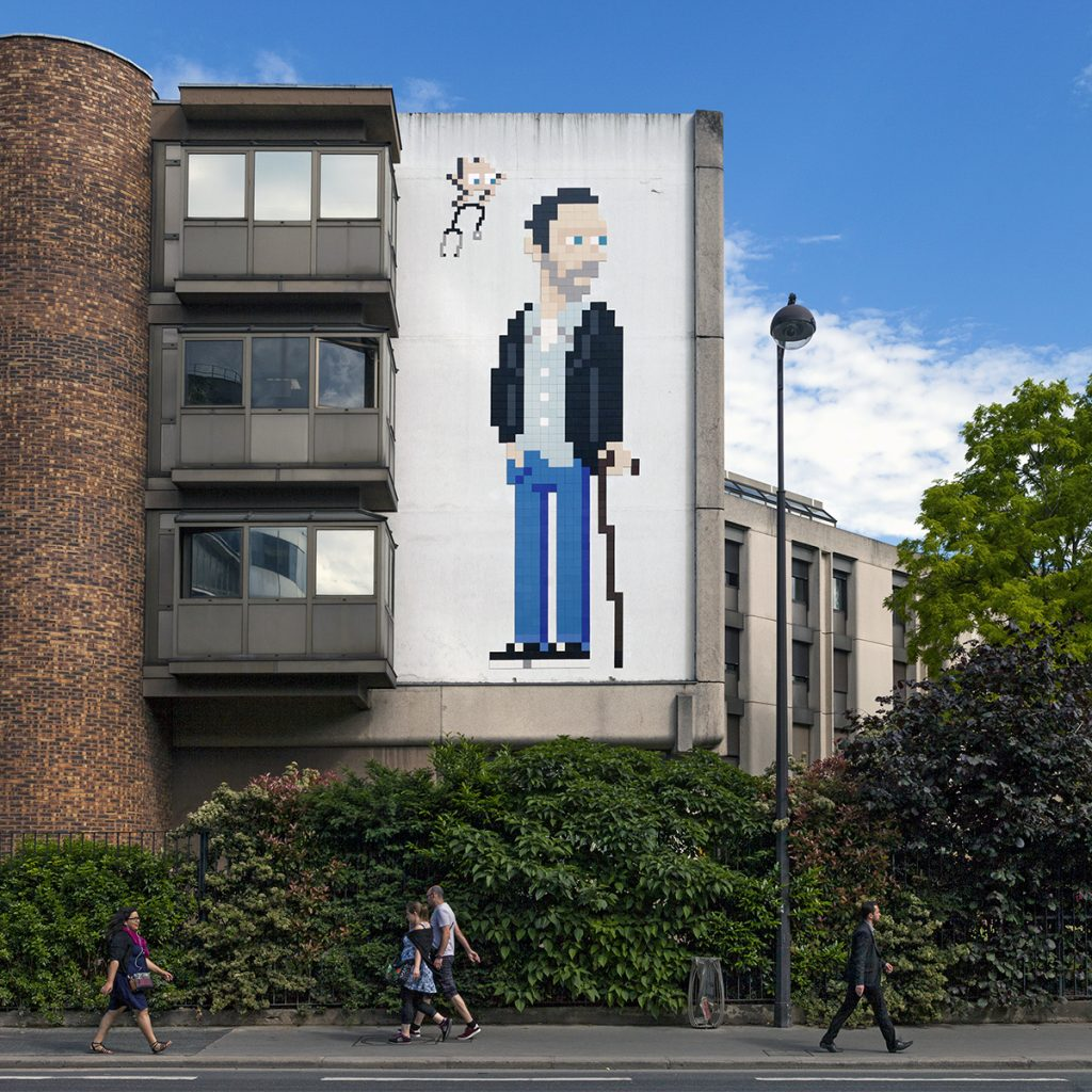 """""""PA_1205 – Dr House"""" by Invader in Paris, France"""