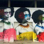 """""""Las Tres Guerreras"""" by Fin DAC in Cartagena, Colombia"""