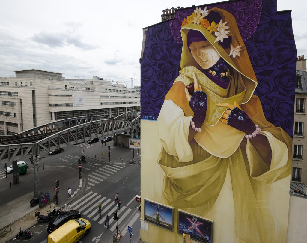 """La Madre Secular 2"" by INTI in Paris"