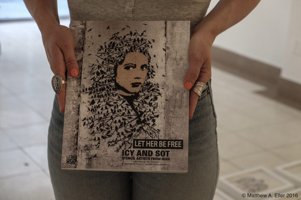"Book Release and Solo Show Icy & Sot ""Let Her Be Free"" 07/23/16 NYC"