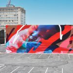 """Far From Tired"" by Telmo Miel for Pow! Wow! Long Beach"
