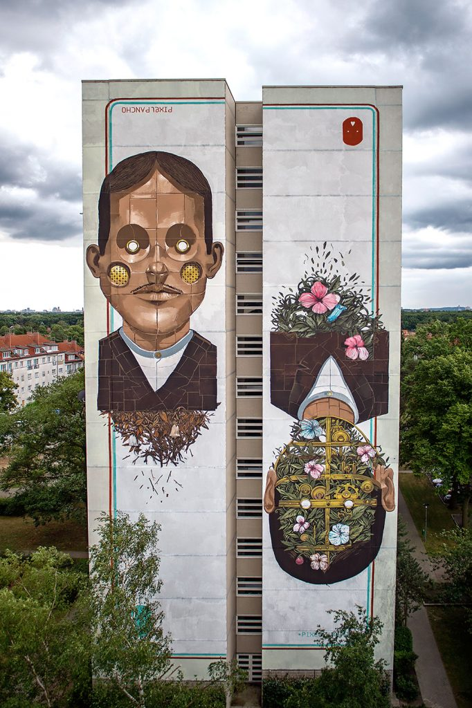 Pixel Pancho for Urban Nation in Berlin