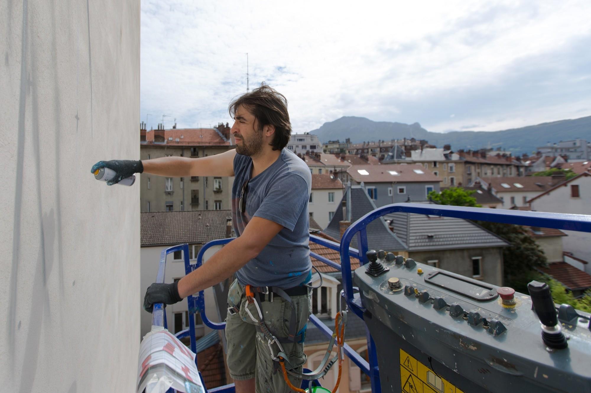 NEVERCREW - Ordering machine - Grenoble 2016 - 11 - at work