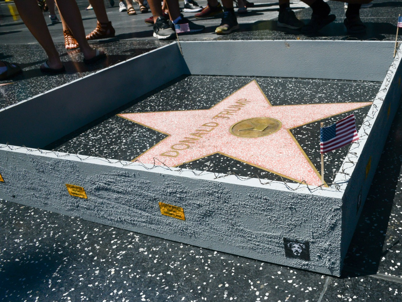 PJ Trump wall walk of fame-8