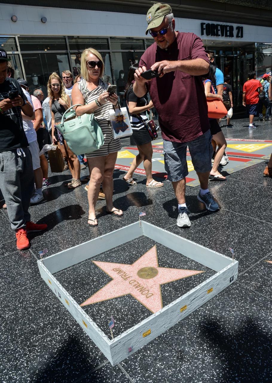 PJ Trump wall walk of fame-9