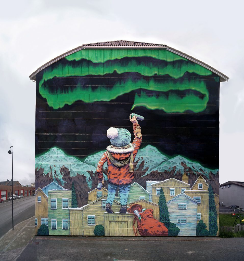 """After School"" by Rustam Qbic in Bodø, Norway"