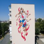"""Rise"" by James Bullough in Kiev, Ukraine"
