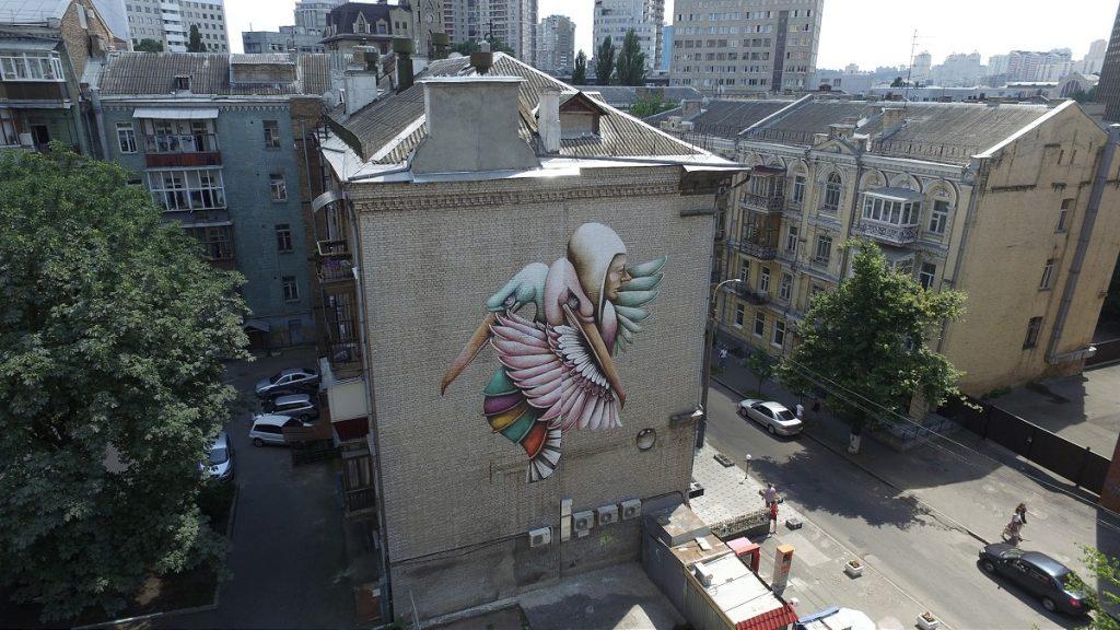 """El Abrazo del Sosiego"" By Ana Maria in Kiev"