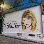 "Lush's ""Celebrity Takeover"" in Hosier Lane, Melbourne"