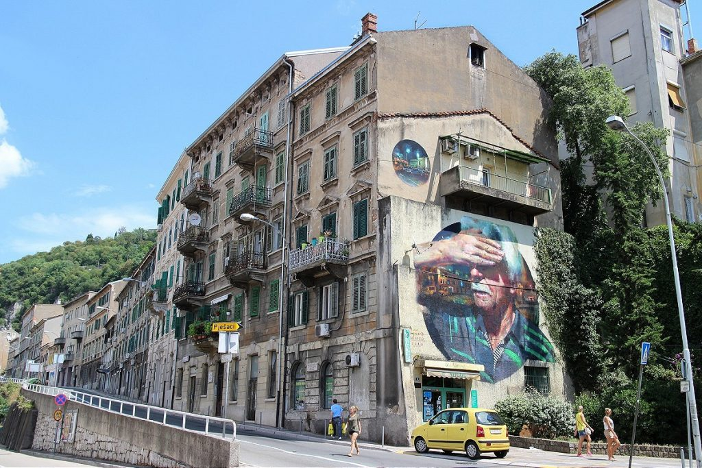 """Explorare Necesse Est"" by Sebas Velasco in Rijeka, Croatia"