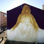 """La Madre Secular 3"" by INTI in Lisbon"