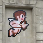 """Metroid & Kid Icarus"" by Invader in Paris"