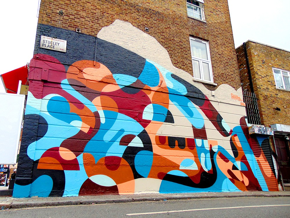 """The Old Jaw Bone & Hand""  by Reka in London"