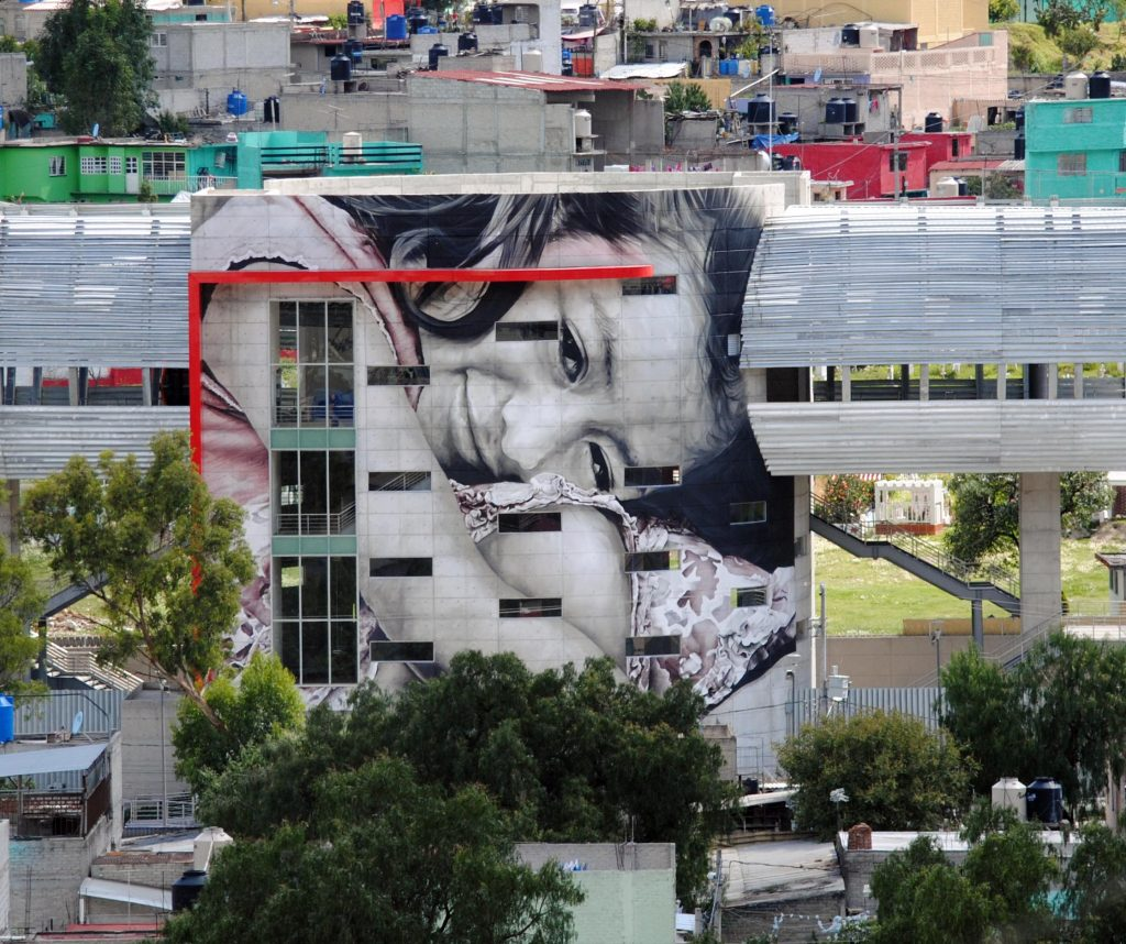 Guido Van Helten in Ecatepec, Mexico