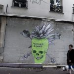 """The World Is Ours"" & ""Decay Of A Nation"" by Ludo in Paris, France"
