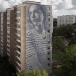 """Emma"" by RONE in Gothenburg, Sweden"