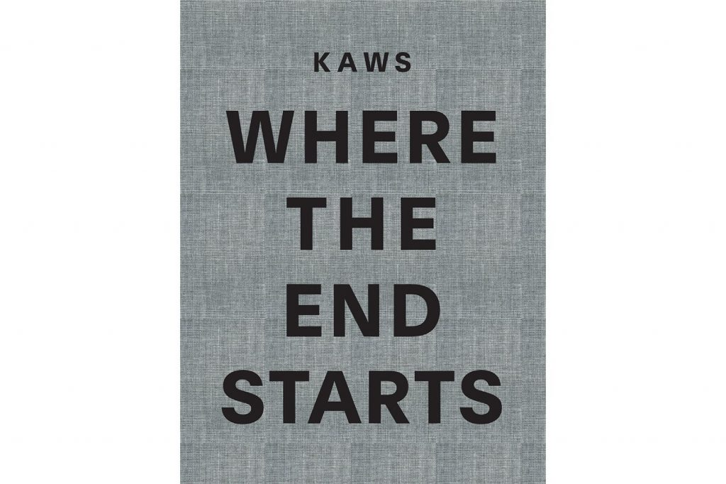 "Books: KAWS ""WHERE THE END STARTS"""