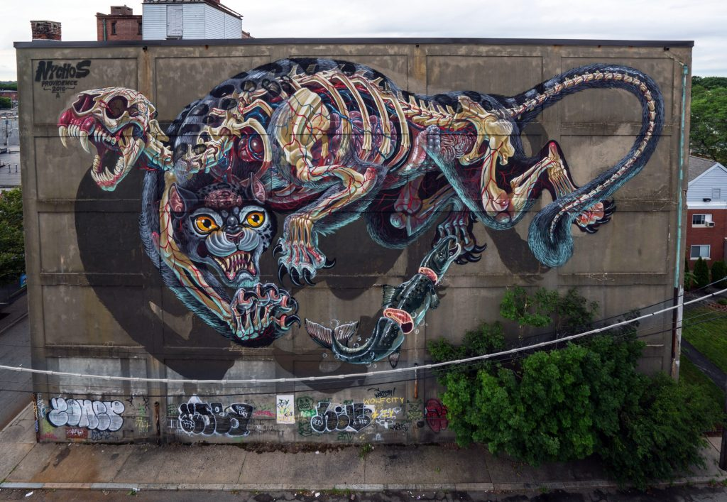 """Master Battlecat"" by Nychos in Providence, USA"