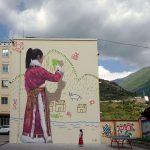 """My Mountain"" by Seth Globepainter in Chang Ping, China"